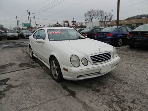 2002 Mercedes-Benz CLK for sale at EAST CHESTER AUTO GROUP INC. in Kingston NY