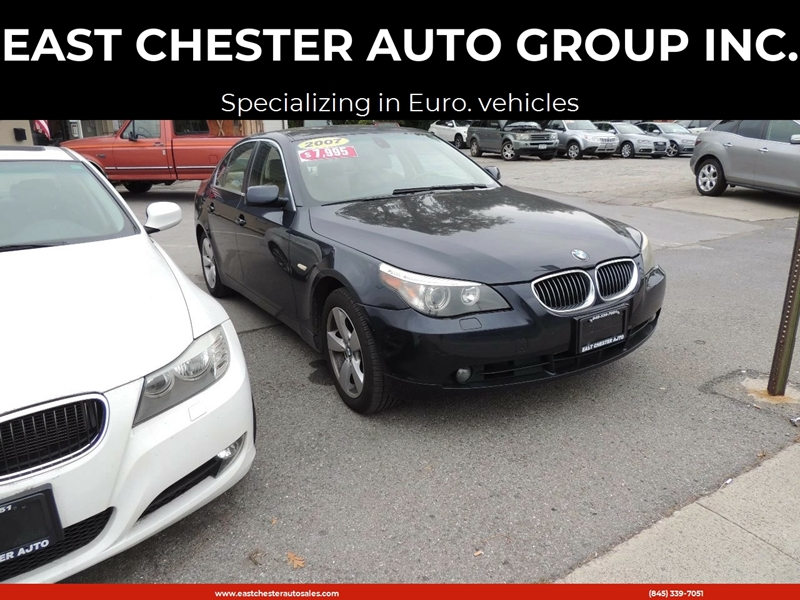 2007 Bmw 5 Series Awd 530xi 4dr Sedan In Kingston Ny East Chester