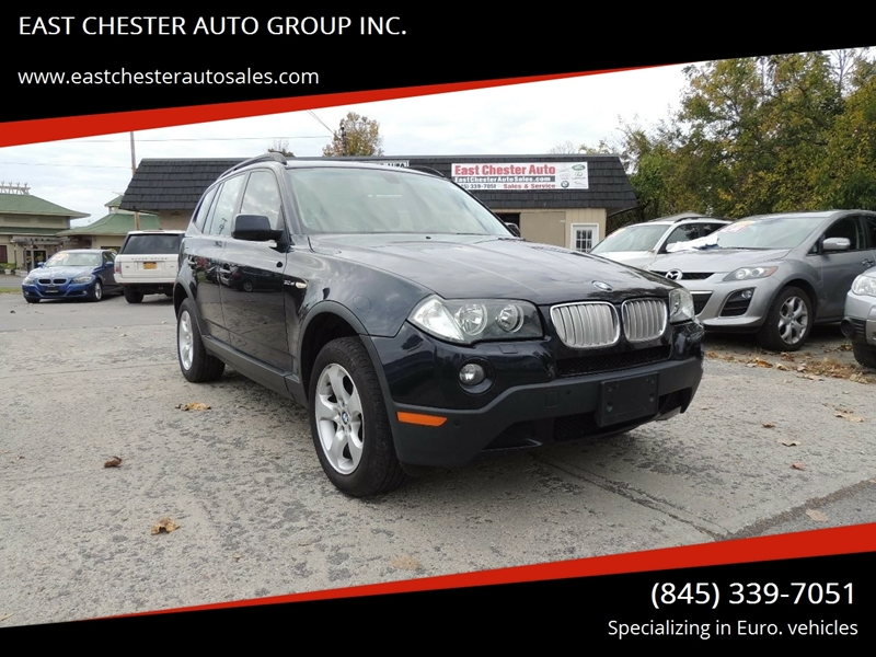 2008 Bmw X3 Awd 3 0si 4dr Suv In Kingston Ny East Chester Auto