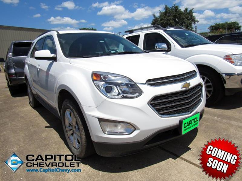 Capitol Chevrolet Austin >> 2016 Chevrolet Equinox Awd Lt 4dr Suv In Austin Tx Capitol
