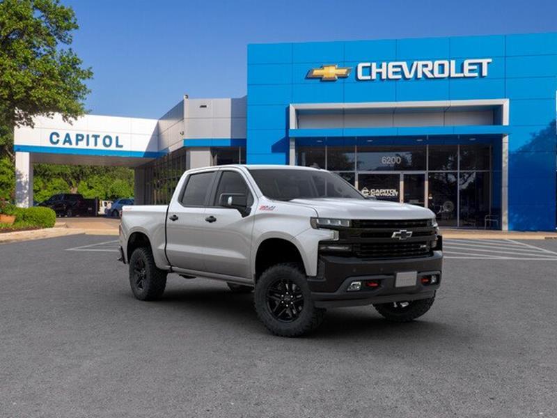 Capitol Chevrolet Austin >> 2019 Chevrolet Silverado 1500 Lt Trail Boss In Austin Tx Capitol