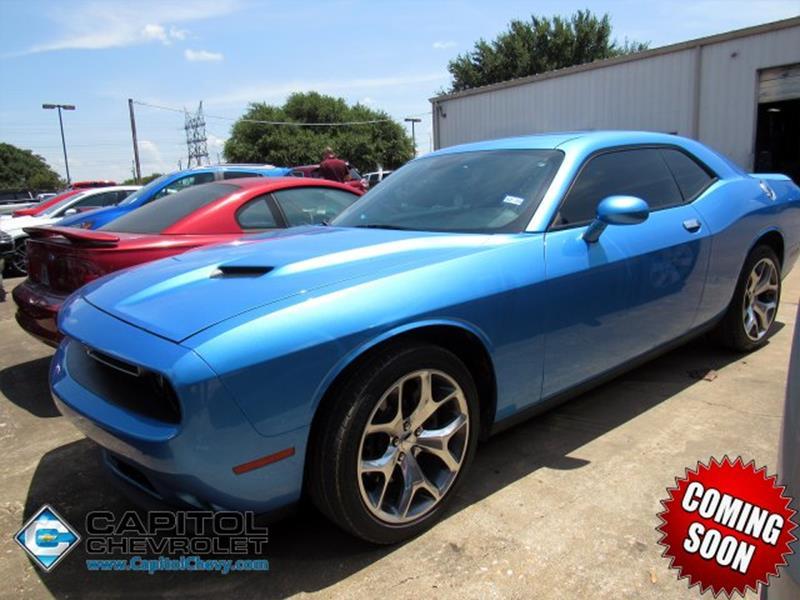 Capitol Chevrolet Austin >> 2016 Dodge Challenger Sxt Plus 2dr Coupe In Austin Tx Capitol