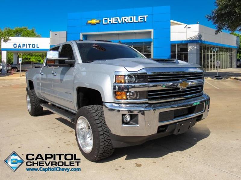 Capitol Chevrolet Austin Tx >> 2019 Chevrolet Silverado 2500hd Ltz In Austin Tx Capitol