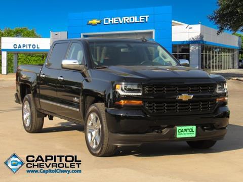 Capitol Chevrolet Austin Tx >> 2018 Chevrolet Silverado 1500 For Sale In Austin Tx