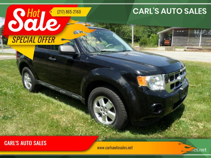 2012 Ford Escape for sale at CARL'S AUTO SALES in Boody IL