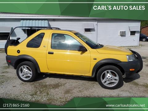 2003 Land Rover Freelander for sale in Boody, IL