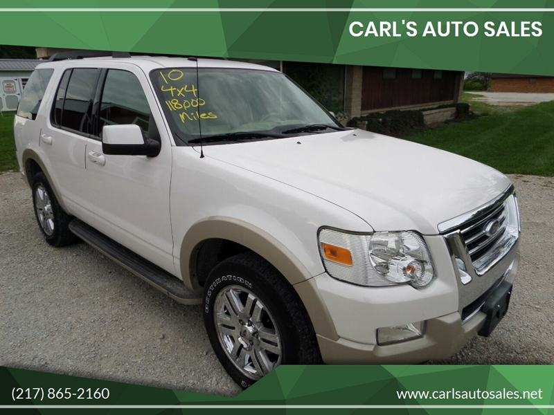 2010 Ford Explorer for sale at CARL'S AUTO SALES in Boody IL