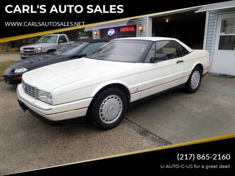 1990 Cadillac Allante for sale at CARL'S AUTO SALES in Boody IL