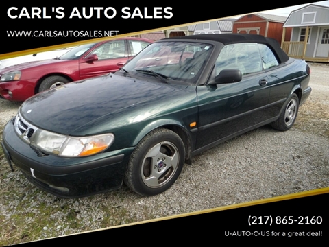 1999 Saab 9-3 for sale at CARL'S AUTO SALES in Boody IL