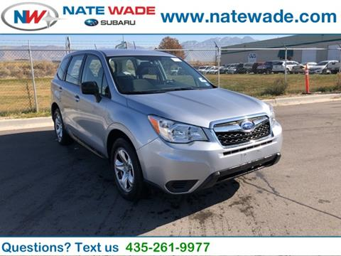 2015 Subaru Forester for sale in Salt Lake City, UT