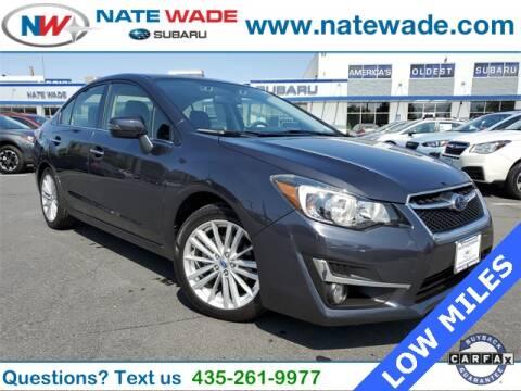 2016 Subaru Impreza for sale at NATE WADE SUBARU in Salt Lake City UT