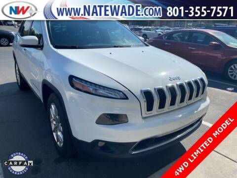 2016 Jeep Cherokee for sale at NATE WADE SUBARU in Salt Lake City UT