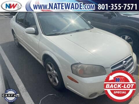 2003 Nissan Maxima for sale at NATE WADE SUBARU in Salt Lake City UT