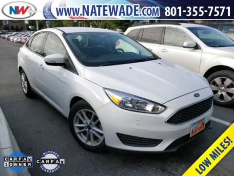 2017 Ford Focus for sale at NATE WADE SUBARU in Salt Lake City UT