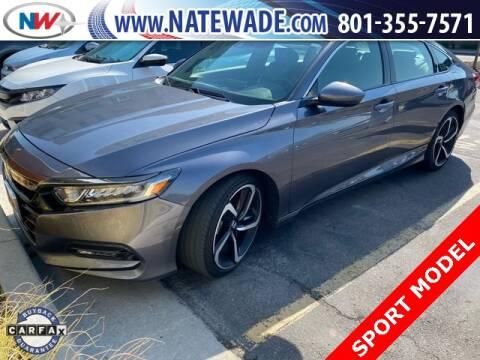 2018 Honda Accord for sale at NATE WADE SUBARU in Salt Lake City UT