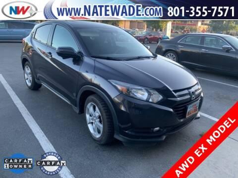 2016 Honda HR-V for sale at NATE WADE SUBARU in Salt Lake City UT