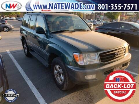 1998 Toyota Land Cruiser for sale at NATE WADE SUBARU in Salt Lake City UT