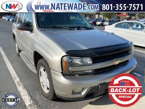 2002 Chevrolet TrailBlazer for sale at NATE WADE SUBARU in Salt Lake City UT