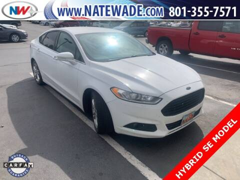2015 Ford Fusion Hybrid for sale at NATE WADE SUBARU in Salt Lake City UT
