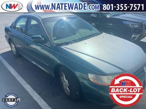 2002 Honda Accord for sale at NATE WADE SUBARU in Salt Lake City UT