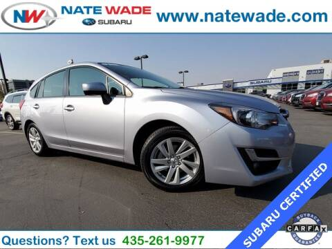 2016 Subaru Impreza for sale at NATE WADE SUBARU in Salt Lake City UT