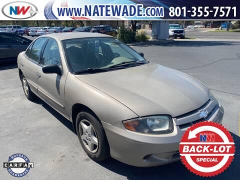 2004 Chevrolet Cavalier for sale at NATE WADE SUBARU in Salt Lake City UT