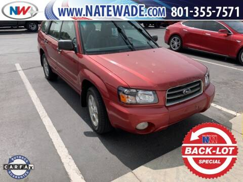 2003 Subaru Forester for sale at NATE WADE SUBARU in Salt Lake City UT