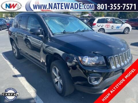 2016 Jeep Compass for sale at NATE WADE SUBARU in Salt Lake City UT