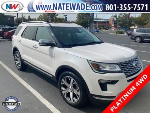 2019 Ford Explorer for sale at NATE WADE SUBARU in Salt Lake City UT