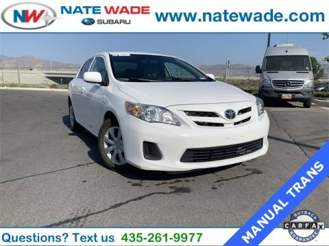 2012 Toyota Corolla for sale at NATE WADE SUBARU in Salt Lake City UT