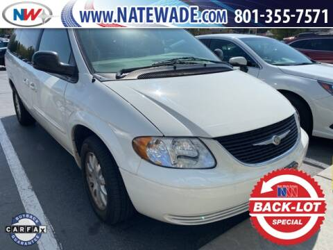 2003 Chrysler Town and Country for sale at NATE WADE SUBARU in Salt Lake City UT
