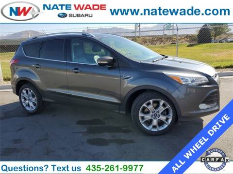 2015 Ford Escape for sale at NATE WADE SUBARU in Salt Lake City UT