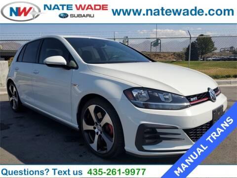 2018 Volkswagen Golf GTI for sale at NATE WADE SUBARU in Salt Lake City UT