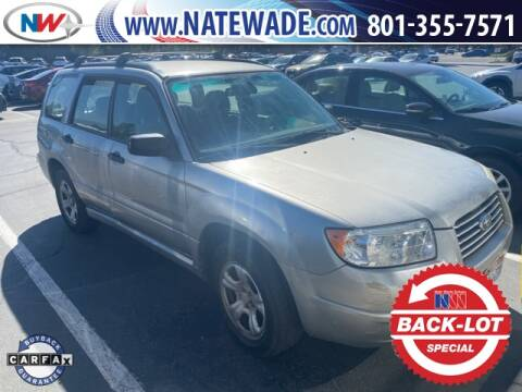 2007 Subaru Forester for sale at NATE WADE SUBARU in Salt Lake City UT