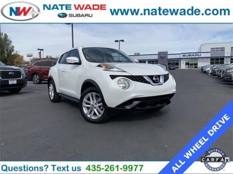 2015 Nissan JUKE for sale at NATE WADE SUBARU in Salt Lake City UT