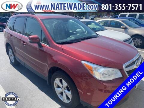 2014 Subaru Forester for sale at NATE WADE SUBARU in Salt Lake City UT