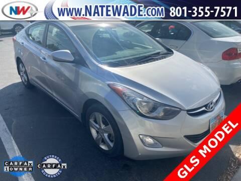 2013 Hyundai Elantra for sale at NATE WADE SUBARU in Salt Lake City UT