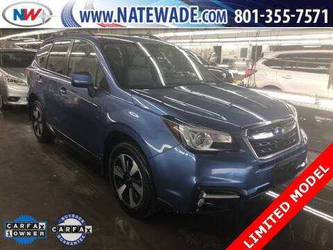 2018 Subaru Forester for sale at NATE WADE SUBARU in Salt Lake City UT