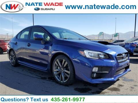 2017 Subaru WRX for sale at NATE WADE SUBARU in Salt Lake City UT