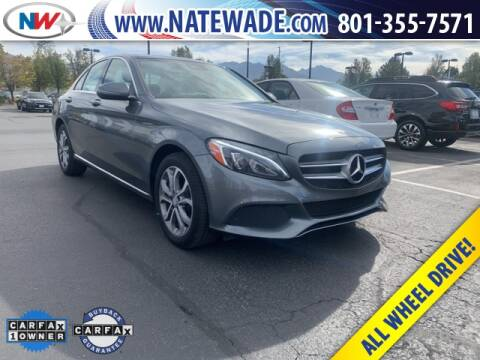2017 Mercedes-Benz C-Class for sale at NATE WADE SUBARU in Salt Lake City UT