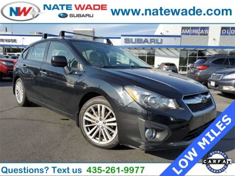2012 Subaru Impreza for sale at NATE WADE SUBARU in Salt Lake City UT