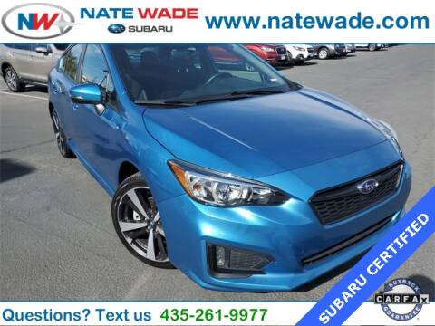 2019 Subaru Impreza for sale at NATE WADE SUBARU in Salt Lake City UT
