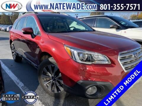 2017 Subaru Outback for sale at NATE WADE SUBARU in Salt Lake City UT