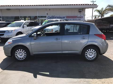 2008 Nissan Versa for sale at Californiacar Sales in Santa Maria CA