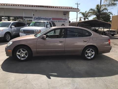 1998 Lexus GS 300 for sale at Californiacar Sales in Santa Maria CA