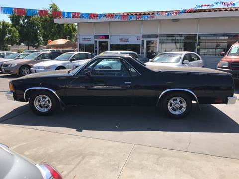 1981 Chevrolet El Camino for sale at Californiacar Sales in Santa Maria CA