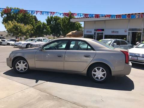 2003 Cadillac CTS for sale at Californiacar Sales in Santa Maria CA