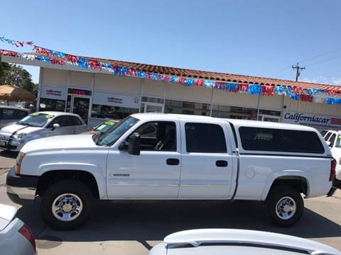 2004 Chevrolet Silverado 2500HD for sale at Californiacar Sales in Santa Maria CA