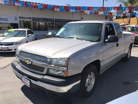 2004 Chevrolet Silverado 1500 for sale at Californiacar Sales in Santa Maria CA