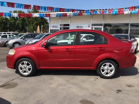 2011 Chevrolet Aveo for sale at Californiacar Sales in Santa Maria CA
